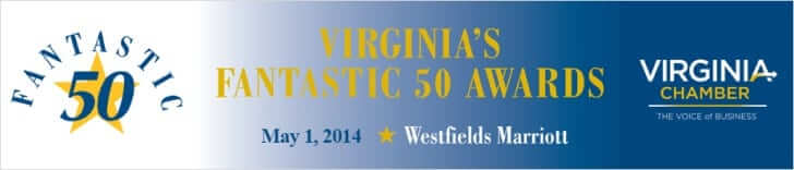 Virginia Chamber of Commerce Fantastic 50 Award